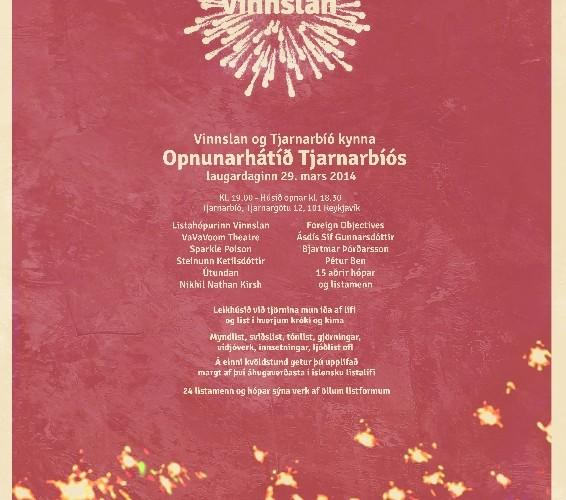 Opnunarhátíð nýs Tjarnarbíós